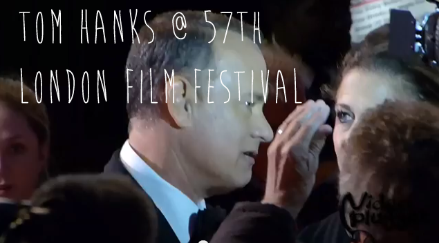 Tom Hanks @ 57th London Filmfestival Opening Gala