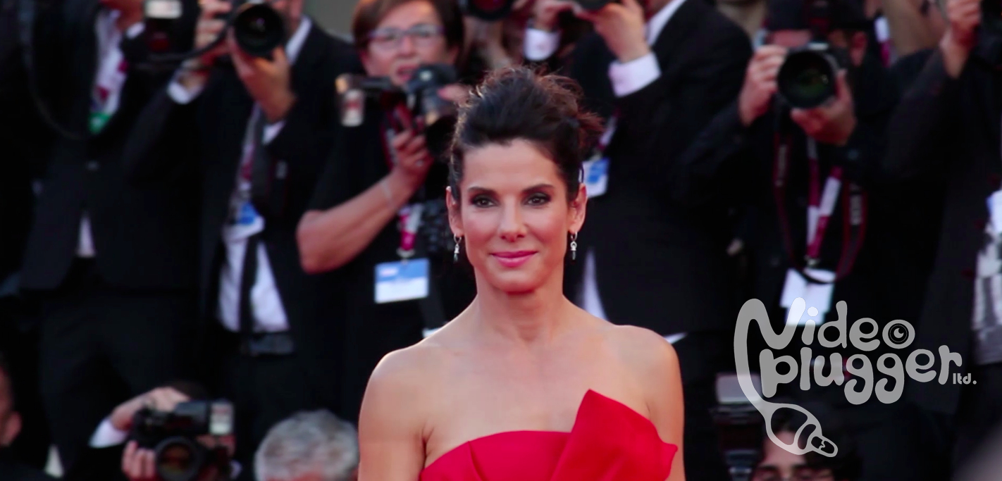 Sandra Bullock at premiere of Gravity