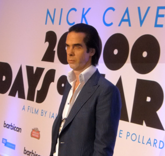 Nick Cave at 20,000 Days on Earth premiere