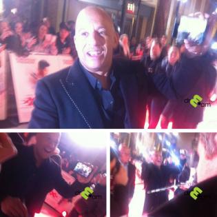 Vin Diesel at XXX premiere