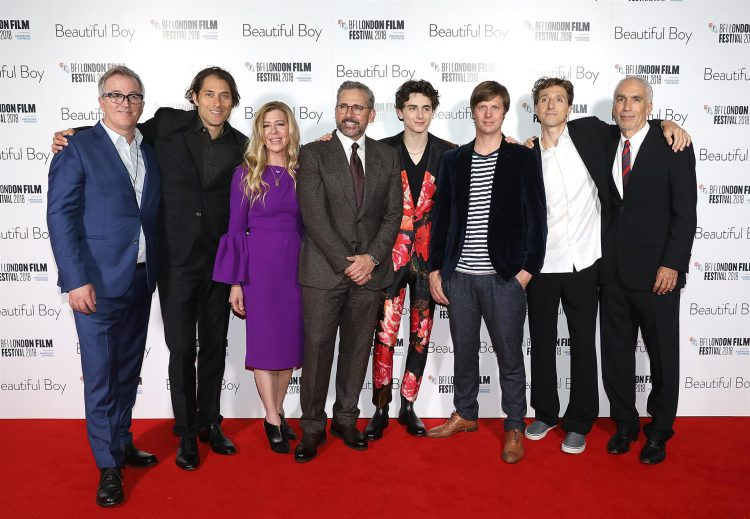 Beautiful Boy Premiere at London Film Festival