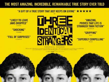 3 Identical Strangers Poster