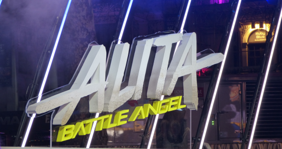 Alita Battle Angel world premiere