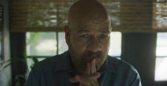 Still from the short film Hank