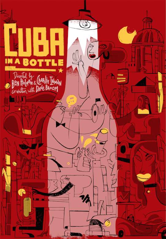 Poster of the series Cuba in the Bottle