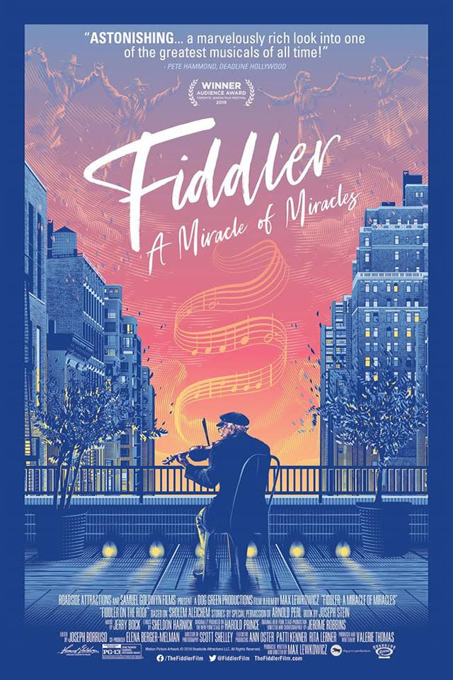 Fiddler: a Miracle of Miracles poster