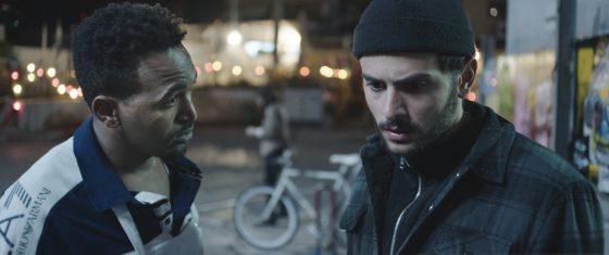 Image from short film White Image