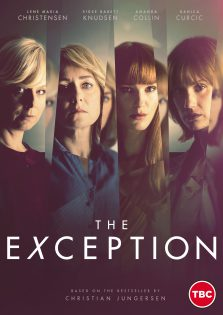 Poster of the Danish psychological thriller The Exception